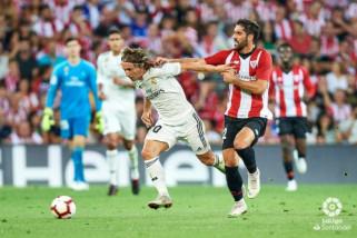Real Madrid ditahan imbang Bilbao 1-1
