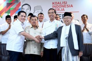 Kepala daerah di Riau deklarasi dukung Jokowi di Pilpres 2019