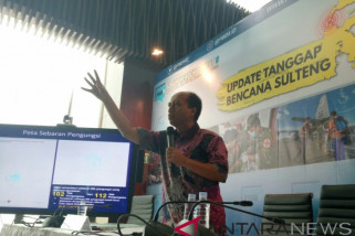 BNPB: korban meninggal akibat gempa-tsunami Sulteng 2.045 orang