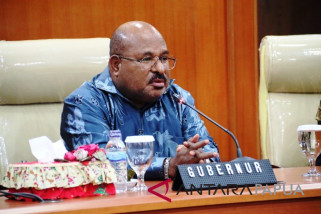 Gubernur Papua agendakan perampingan OPD