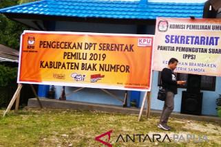 KPU Biak Numfor perkenalkan posko gerakan melindungi hak pilih