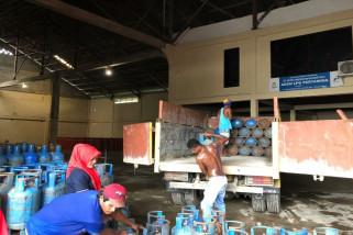 Pertamina: stok elpiji Mimika capai 10.000 tabung