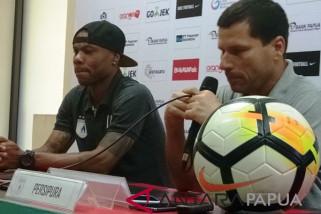 Pelatih Persipura arahkan permainan kompak hadapi Persib Bandung
