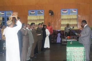 Bupati Asmat lantik enam pejabat pimpinan tinggi pratama
