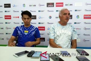 Persib Bandung raih poin di kandang Persipura