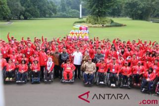 Presiden apresiasi atlet Asian Para Games 2018