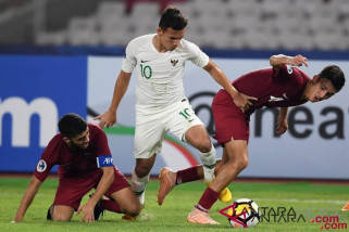 Piala U-19 Asia - Timnas Indonesia tidak lagi memimpin Grup A