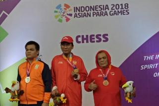 Asian Para Games - Indonesia borong enam medali emas cabang catur