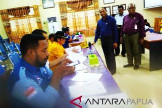 KPU Biak Numfor validasi berkas PAW dua anggota DPRD