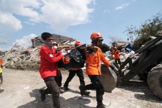 BNPB: korban meninggal akibat gempa-tsunami Sulawesi Tengah tercatat 1.234 orang