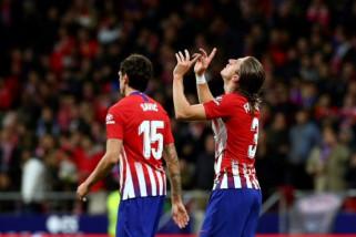Atletico Madrid rasakan puncak klasemen Liga Spanyol jelang El Clasico