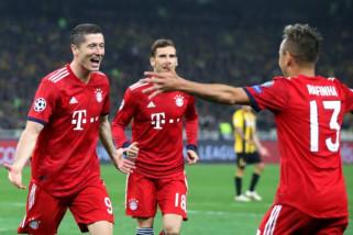 Bayern Muenchen menang di Liga Champions