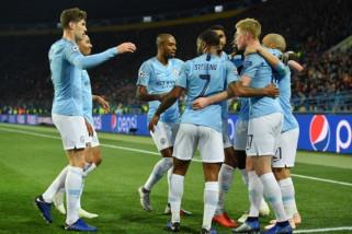 Manchester City ambil alih pimpinan klasemen Grup F Liga Champions