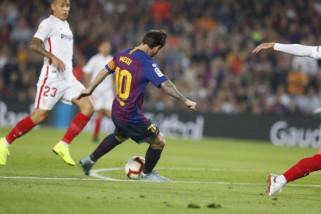 Barcelona tundukkan Sevilla namun Messi cidera serius