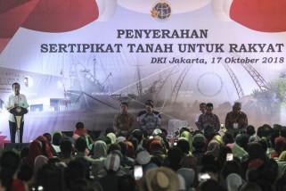 Presiden Jokowi ingatkan warga jangan termakan fitnah
