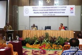 Pemprov Papua minta kabupaten/kota siapkan data valid ASN