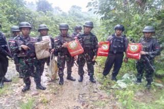 TNI/Polri amankan 4,5 kiogram ganja di perbatasan RI-PNG
