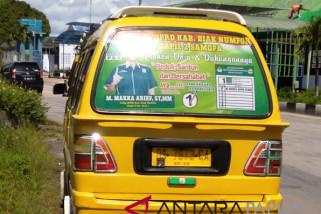 Bawaslu Biak Numfor larang pemasangan APK di angkutan umum