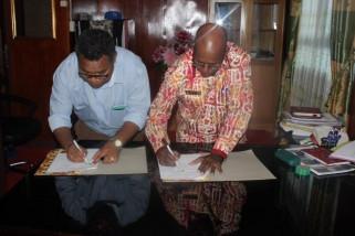 Disdik Asmat dan WWF pastikan kerja sama di bidang pendidikan