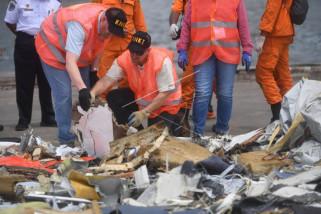 Penyelidik periksa ulang puing Lion Air JT 610