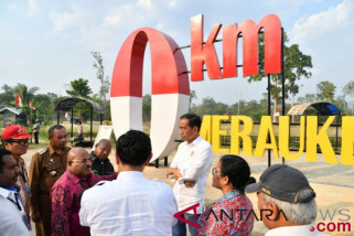 Presiden ingin pos lintas batas RI-PNG di Merauke jadi kebanggaan