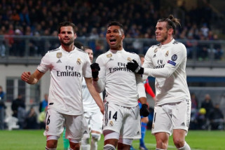 Liga Champions Grup G - Madrid dan Roma raih kemenangan