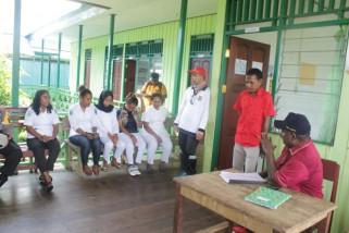 Bupati Asmat tinjau fasilitas pemerintah di Kampung Nakai
