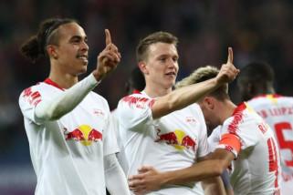 Liga Jerman - Leipzig geser Bayer Muenchen di peringkat tiga klasemen