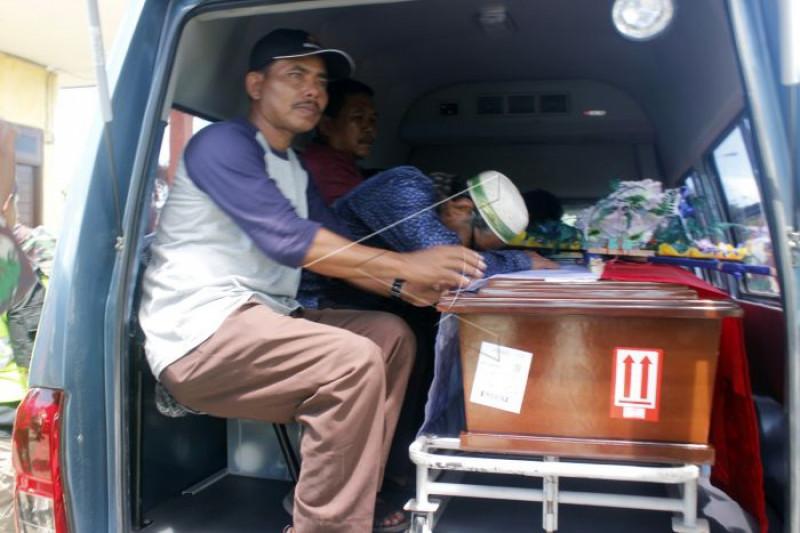 Jenazah korban penembakan KKSB di Nduga Papua