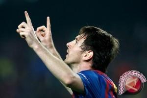 Lionel Messi pencetak gol terbanyak di Liga Spanyol