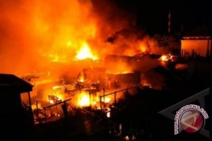Rumah Sakit Jiwa Madani Di Palu Terbakar
