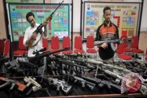DPO Poso Miliki Dua Jenis Senjata