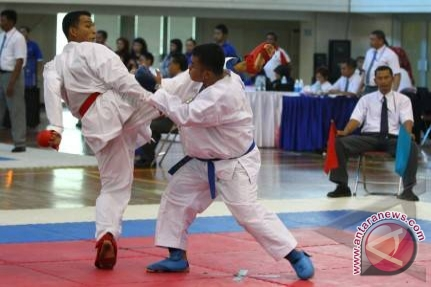 Karate - Karate Sulteng Raih Tiket Ke Pon 2016