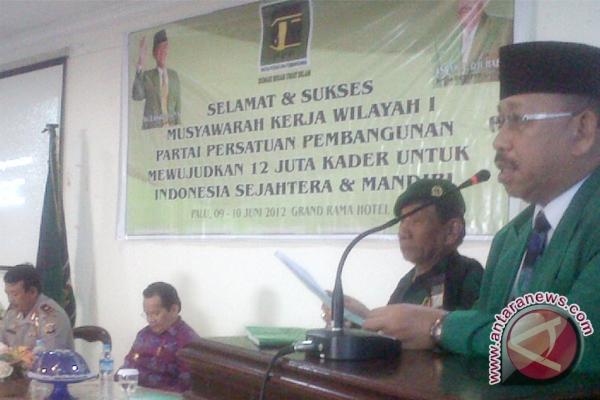 Formatur Belum Putuskan Ketua PPP Sulteng Terpilih