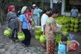 Harga elpiji bersubsidi di Napu Rp50.000/tabung
