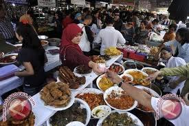Dinkes Palu Jamin Kesehatan Makanan Pasar Ramadhan