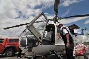 Bantuan logistik korban gempa Sigi pakai Helikopter