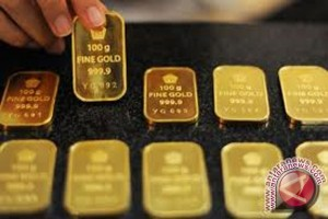 Emas turun di tengah perdagangan lambat jelang pemilu sela AS