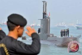 Kapal selam kedua pesanan TNI AL diluncurkan di Korea Selatan