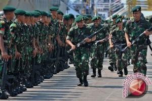 Danrem Lepas Pasukan Pengaman Perbatasan RI-PNG
