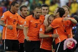 Belanda bermain imbang 1-1 dengan Italia