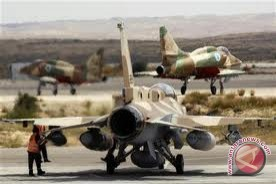 Israel Serang Gaza Pascapenembakan Roket