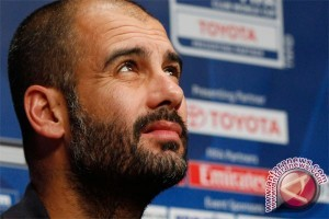 Manchester City telan kekalahan perdana, Guardiola tak patah hati