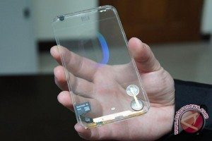 Polytron Kembangkan Ponsel Pintar Transparan