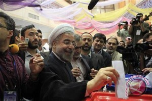 Presiden Iran berikrar akan langkahi sanksi AS