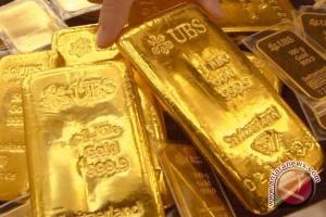 Harga emas berjangka terus naik