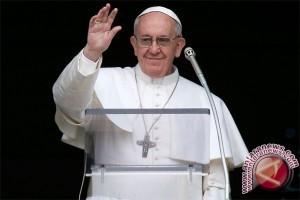 Paus Fransiskus kunjungi gereja yang dibom ISIS di Mesir