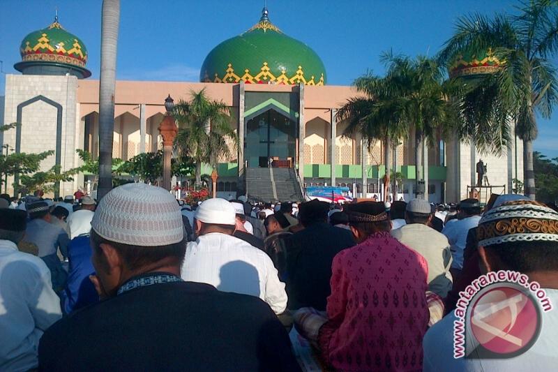 Sejumlah Masjid Di Palu Laksanakan Shalat GMT