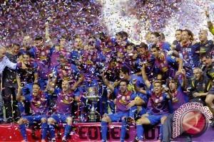 Barcelona raih gelar Liga Spanyol setelah kalahkan Deportivo