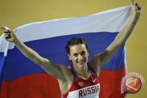 Isinbayeva Tiga Kali Juara Dunia Loncat Galah